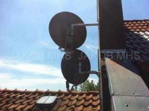 Sat Antenne Schüssel Empfang