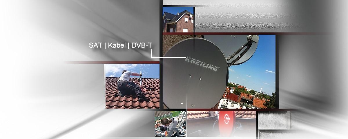 SAT TV - Satanlagen, Satellitenschüssel, Service, Montage