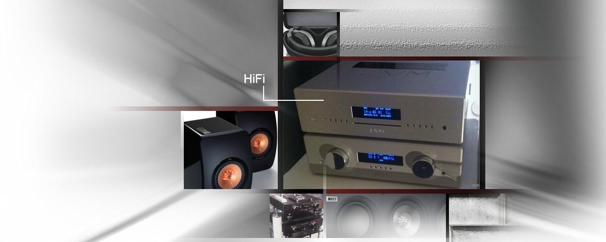 HiFi Komponenten Lautsprecher